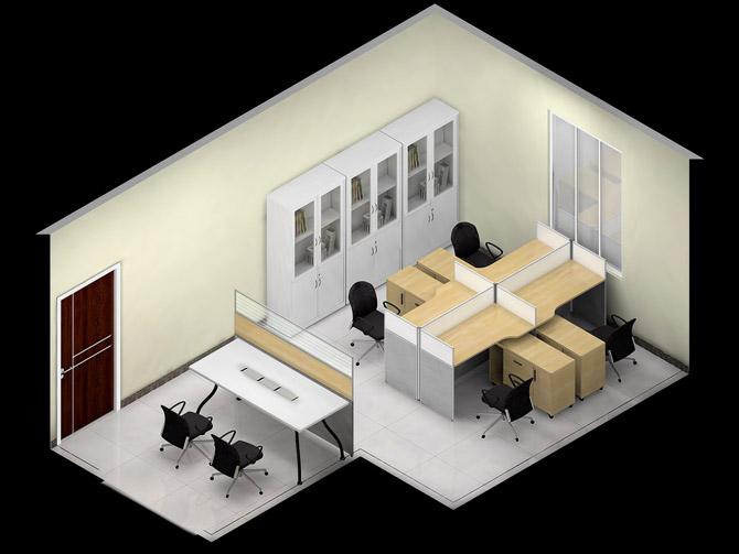办公家具隔断组合形式