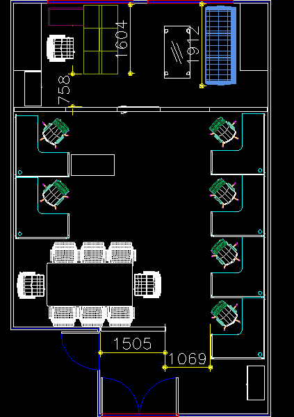 青岛办公家具设计